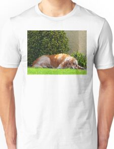 Dog Relaxing Unisex T-Shirt