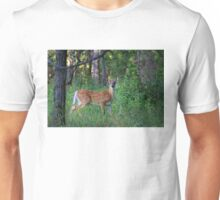 White-tailed deer fawn Unisex T-Shirt