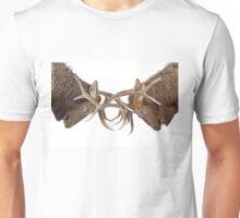 Eye 2 Eye - Elk fight Unisex T-Shirt
