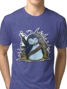 War penguin Tri-blend T-Shirt
