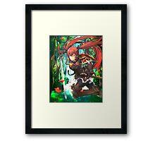 Fire Emblem Fates - Luna / Selena Framed Print