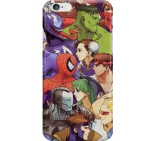 Heroes comics vs games iPhone Case/Skin