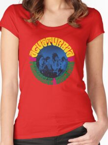 Aguaturbia- Psychedelic Drugstore Women's Fitted Scoop T-Shirt