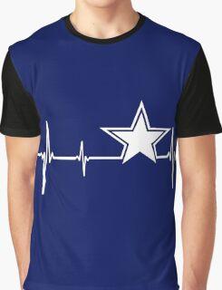 Dallas Cowboys Heartbeat Graphic T-Shirt