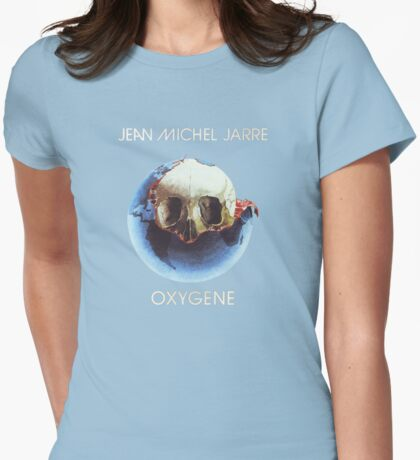 Jean-Michel Jarre - Oxygène Womens Fitted T-Shirt