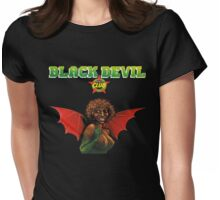 Bernard Fevre - Black Devil Disco Club Womens Fitted T-Shirt