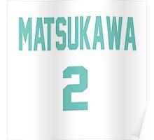 Haikyuu!! Jersey Matsukawa Number 2 (Aoba) Poster