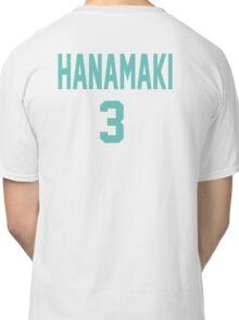 Haikyuu!! Jersey Hanamaki Number 3 (Aoba) Classic T-Shirt