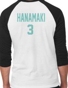 Haikyuu!! Jersey Hanamaki Number 3 (Aoba) Men's Baseball ¾ T-Shirt