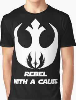 Rebel With A Cause Graphic T-Shirt