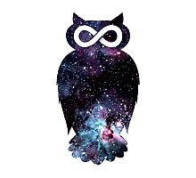 Super Cosmic Owlfinity Photographic Print