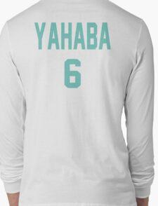 Haikyuu!! Jersey Yahaba Number 6 (Aoba) Long Sleeve T-Shirt