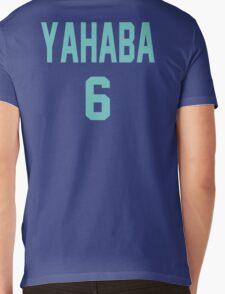 Haikyuu!! Jersey Yahaba Number 6 (Aoba) Mens V-Neck T-Shirt