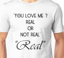 Hunger Games : Real or Not Real Unisex T-Shirt