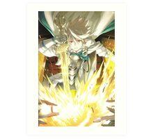 Fire Emblem Fates - Corrin (Light Blood) Art Print