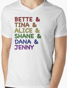 The L Word  Mens V-Neck T-Shirt