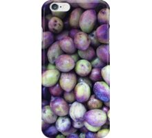 Mediterranean green black Olives iPhone Case/Skin