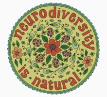 Neurodiversity Mandala  One Piece - Short Sleeve