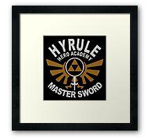 Hyrule academy Framed Print