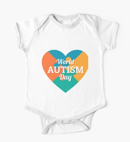 World Autism day One Piece - Short Sleeve