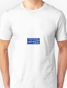 Massachusetts Welcomes you  Unisex T-Shirt
