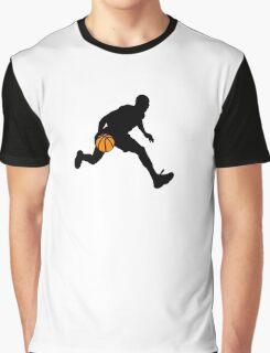 Basketball Player Graphic T-Shirt