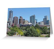 Denver Colorado Greeting Card