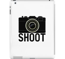 Shoot - photographer's camera iPad Case/Skin