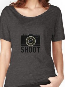 Shoot - photographer's camera Women's Relaxed Fit T-Shirt