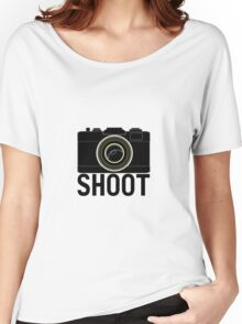 Shoot - photographer's camera Women's Relaxed Fit T-Shirt