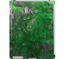 Blossoms in the wind  (green) iPad Case/Skin