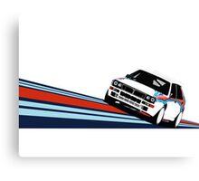 1992 Rally Race Car Canvas Print