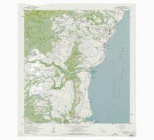 USGS TOPO Map Hawaii HI Kapaa 349379 1963 24000 One Piece - Short Sleeve