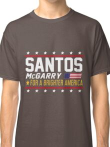 Santos and McGarry Campaign Poster from West Wing Classic T-Shirt