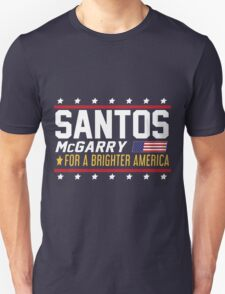 Santos and McGarry Campaign Poster from West Wing Unisex T-Shirt