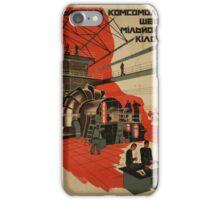 One Million Komsomoltsy - Master of One Million Kilowatts iPhone Case/Skin