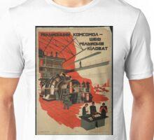 One Million Komsomoltsy - Master of One Million Kilowatts Unisex T-Shirt