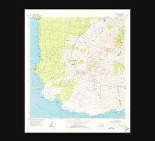 USGS TOPO Map Hawaii HI Makena 349564 1954 24000 Unisex T-Shirt