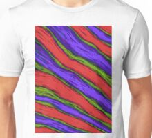Diagonal striper Unisex T-Shirt