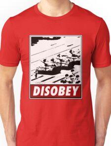 Tank Man- Disobey Unisex T-Shirt