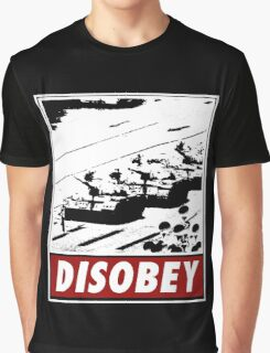Tank Man- Disobey Graphic T-Shirt