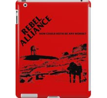 How Could Hoth Be Any Worse? iPad Case/Skin