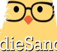 Birdie Sanders Bernie Sanders #BirdieSanders American Flag #FeelTheBird #FeelTheBern Cartoon Meme Sticker
