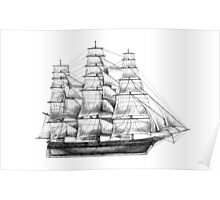 Square Rigger Poster
