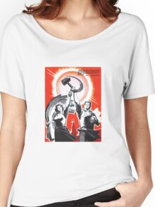 Soviet Poster Women's Relaxed Fit T-Shirt