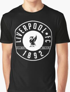 Liverpool FC - 1892 BLACK & WHITE Graphic T-Shirt