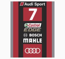 Audi R18 e-tron #7 LeMans 2016 Kids Tee