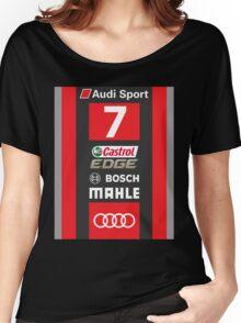 Audi R18 e-tron #7 LeMans 2016 Women's Relaxed Fit T-Shirt