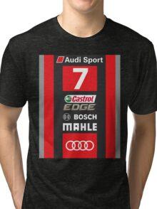 Audi R18 e-tron #7 LeMans 2016 Tri-blend T-Shirt