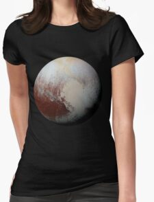 Pluto Womens Fitted T-Shirt